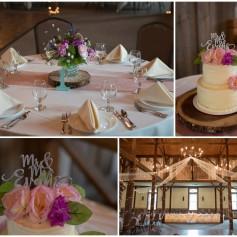 wedding cake, barn wedding, wedding table, flower cake topper