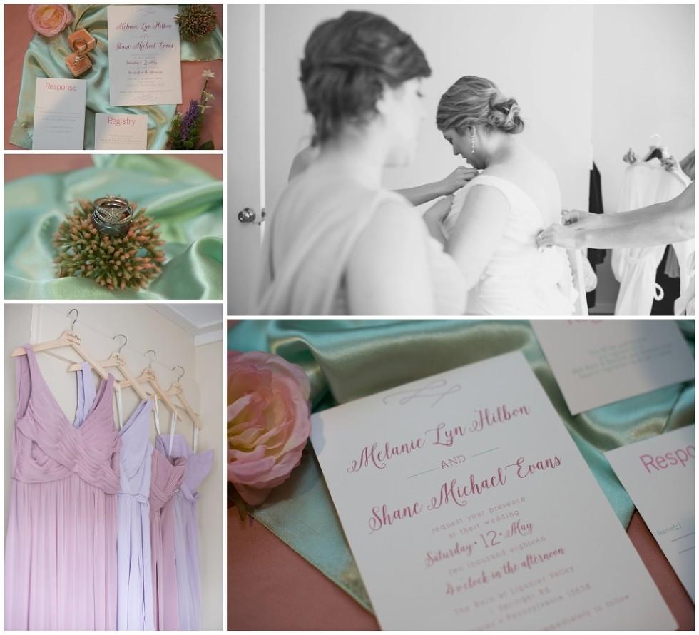 wedding invitation, flowers, bridesmaid, dress, getting ready