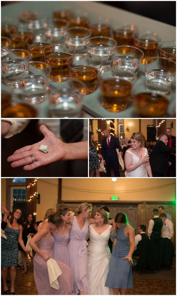 shots, dollar dance, wedding, dancing